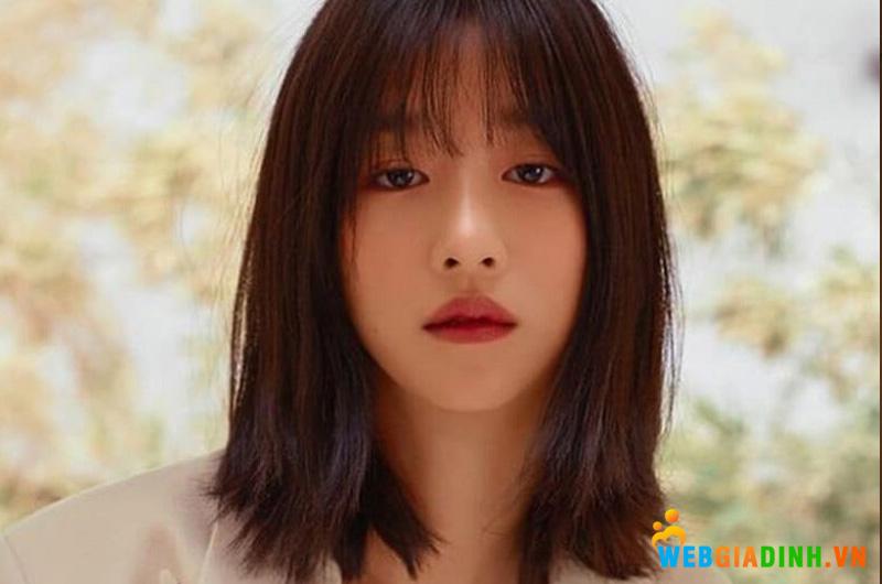 Tóc nữ duỗi thẳng Hàn Quốc