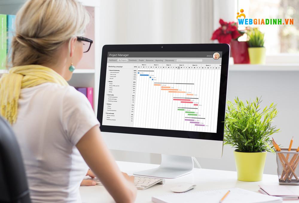 Phần mềm quản lý công việc giúp quản lý thành viên trong nhóm dễ dàng!