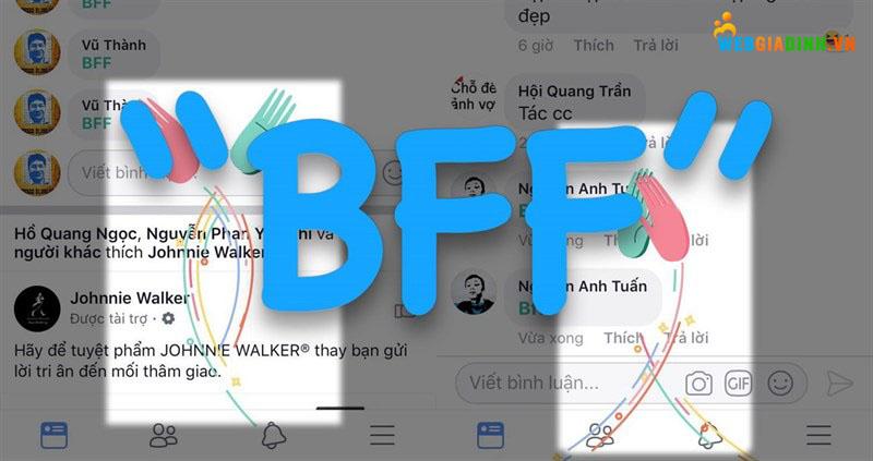 Cách dùng bff trên fb