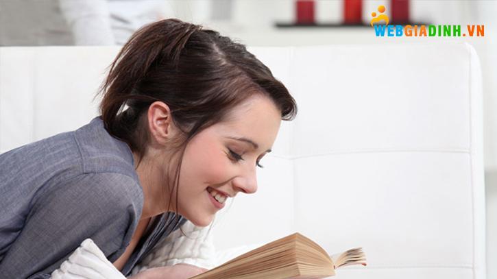 Đọc sách giúp bạn thư giãn!