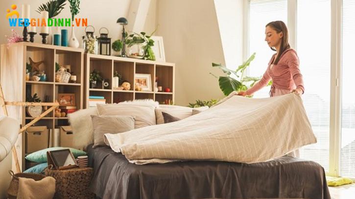 Dọn dẹp nhà cửa sẽ giúp tinh thần thoải mái hơn!