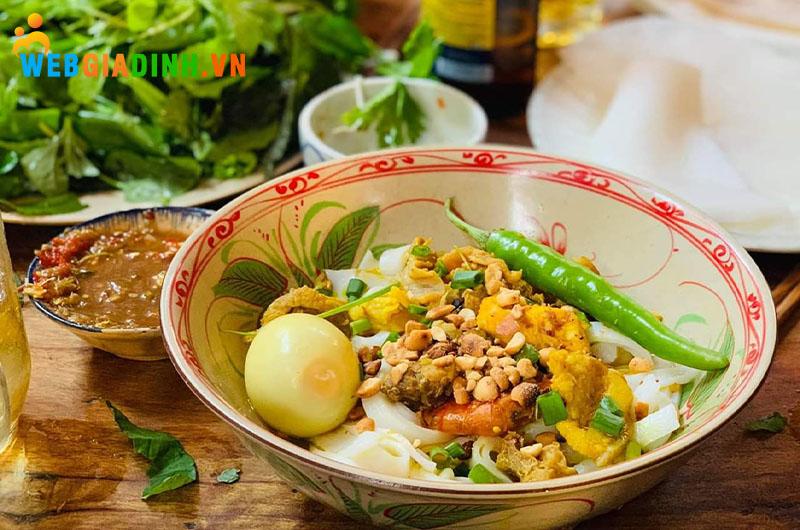 món ăn mỳ quảng Đà Nẵng