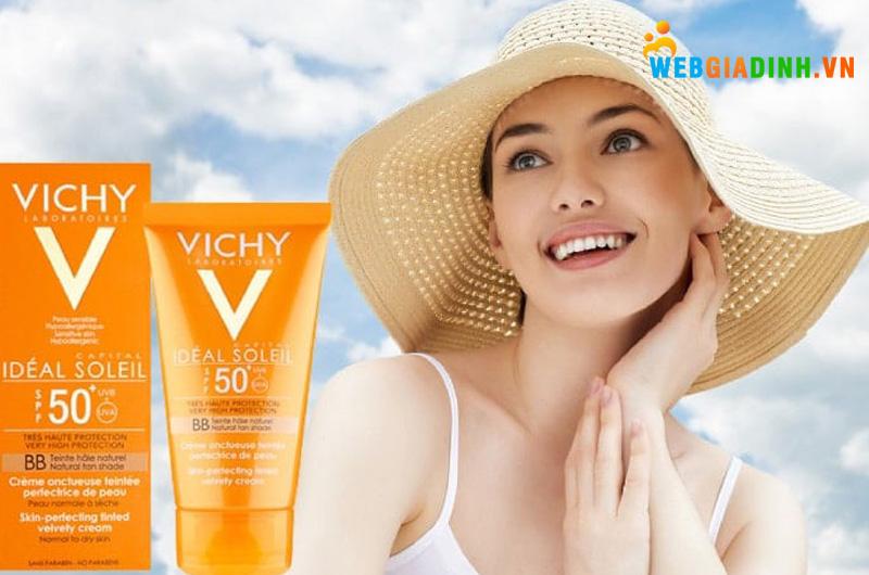 Kem chống nắng Vichy cho da dầu Ideal Soleil
