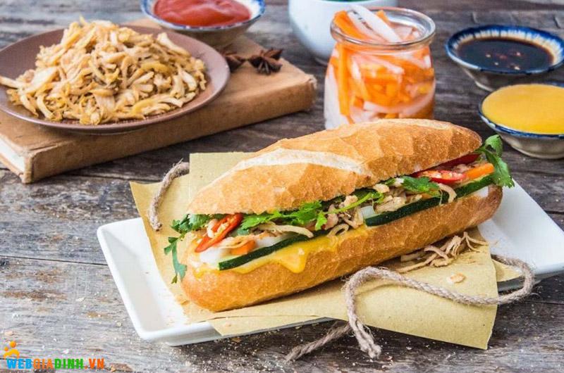 bánh mì nướng sả mayo