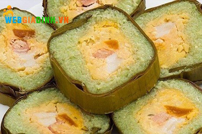 bánh tét - ẩm thực miền Trung