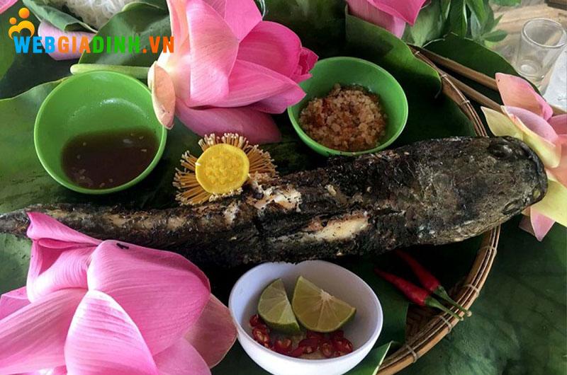 cá lóc nướng - đặc sản miền tây