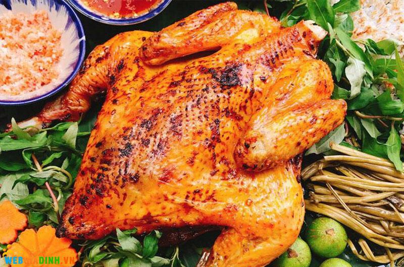 cách chế biến thịt gà quay nước dừa