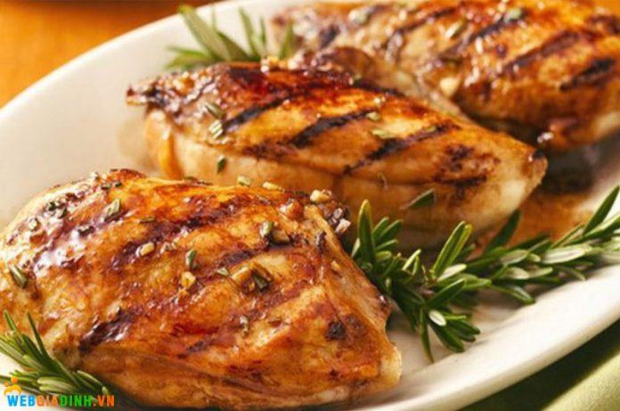chế biến thịt gà