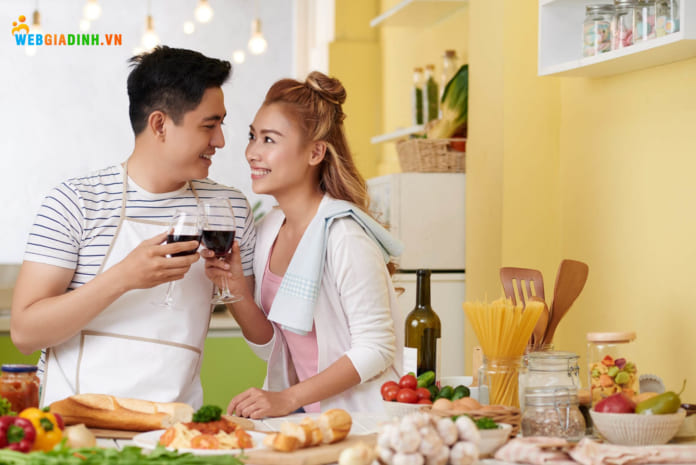 Chia sẻ việc nhà cùng nhau