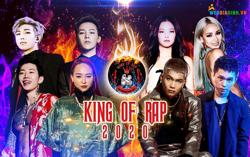 Gameshow ca nhạc King of rap