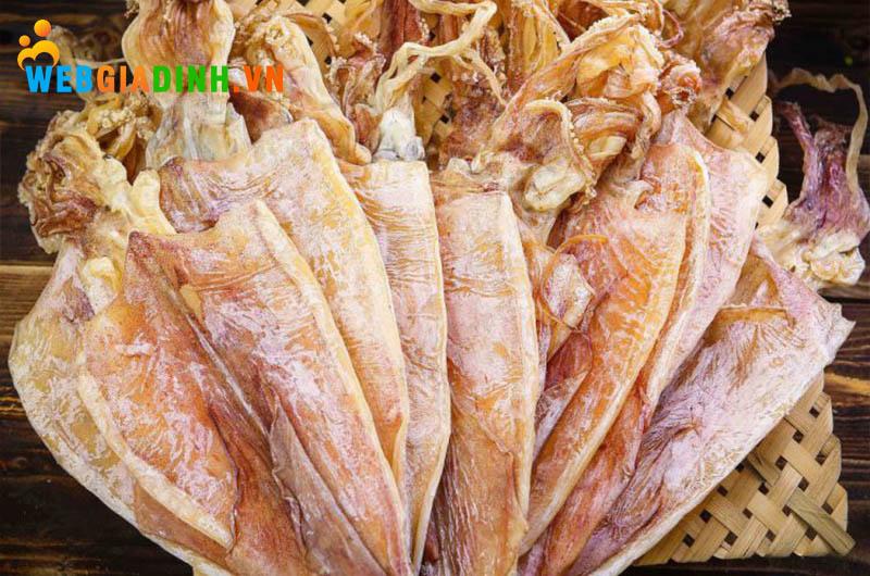 mực khô đặc sản Quảng Bình