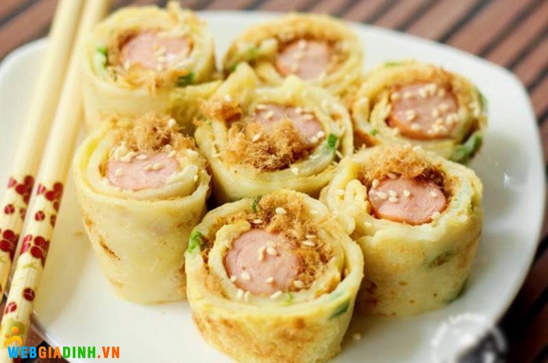 pancake sushi