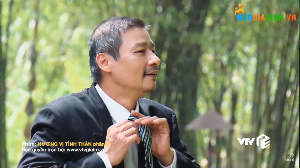 Ông Sinh háo hức sửa cà vạt chỉnh tề để vào dự đám cưới con gái - Hương vị tình thân Tập 26!