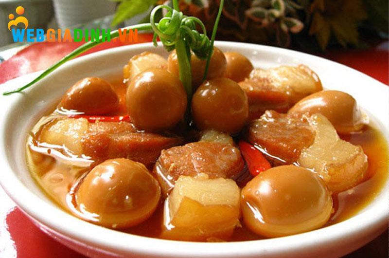 Thịt kho tàu - ẩm thực miền Nam