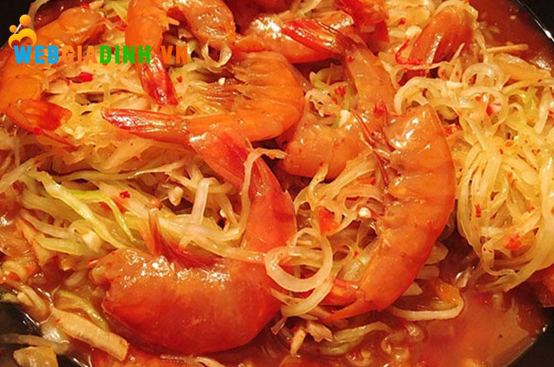 tôm chua - ẩm thực miền trung