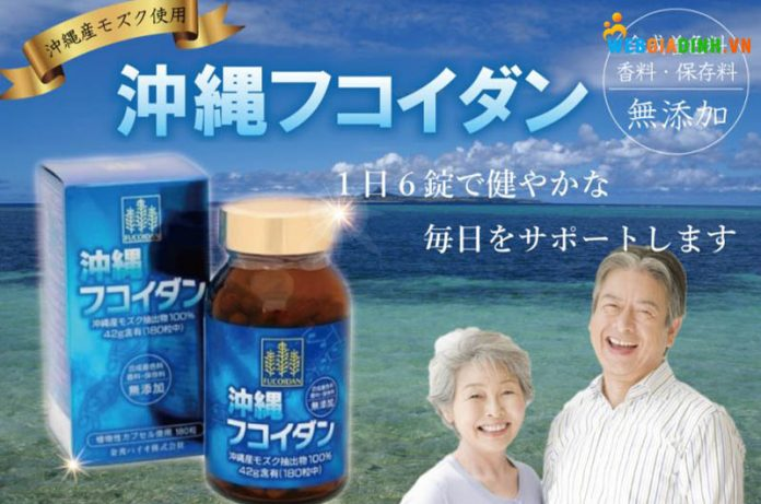 Fucoidan Nhật Bản