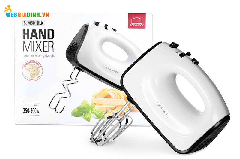 Máy Lock&Lock Hand Mixer EJM501BLK (300W)
