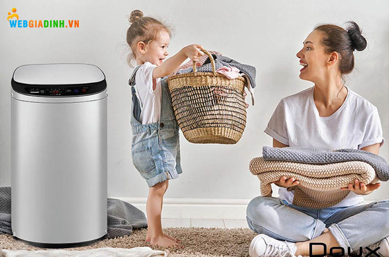 Máy giặt Mini DOUX – Giặt vắt tự động thông minh