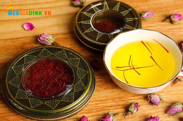 Tác dụng của Saffron đối với sức khỏe con người