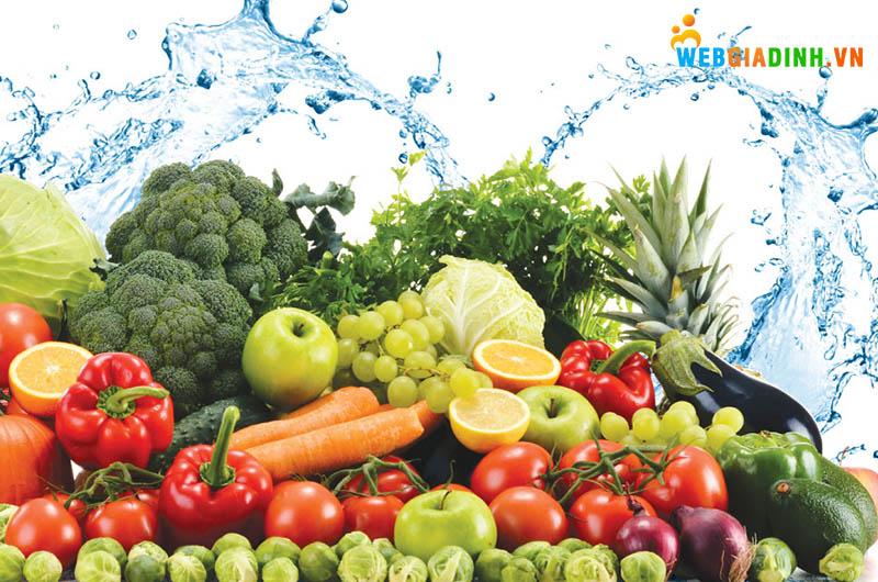 thực phẩm sạch đảm bảo an toàn vệ sinh thực phẩm