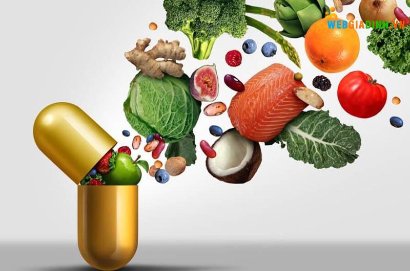 Bố sung vitamin và khoáng chất cho cơ thể đầy đủ