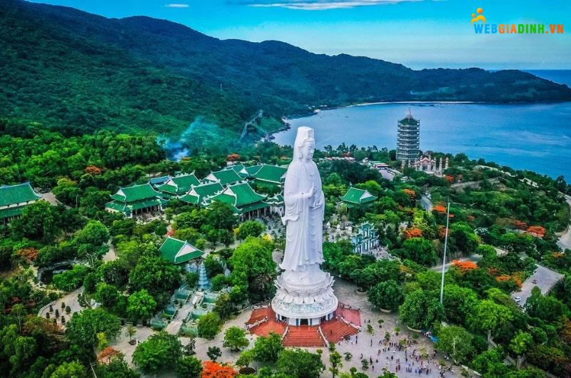 Chùa Linh Ứng địa điểm du lịch tâm linh