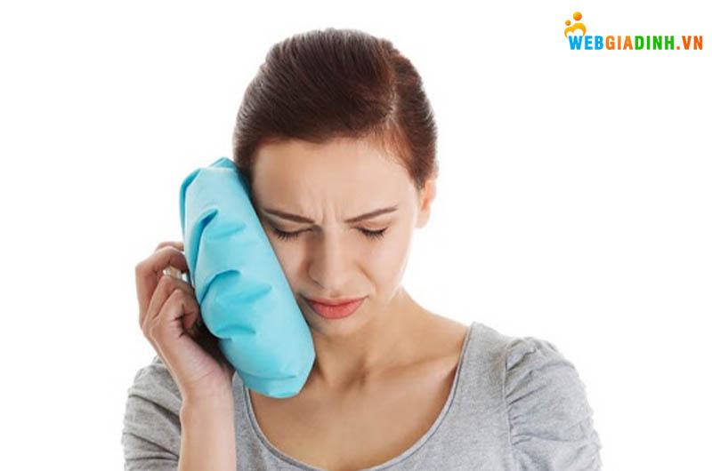 Mẹo trị đau răng bằng khăn lạnh