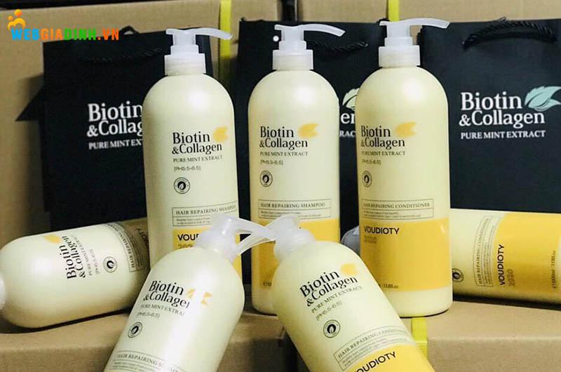 cặp dầu gội xả Biotin Collagen