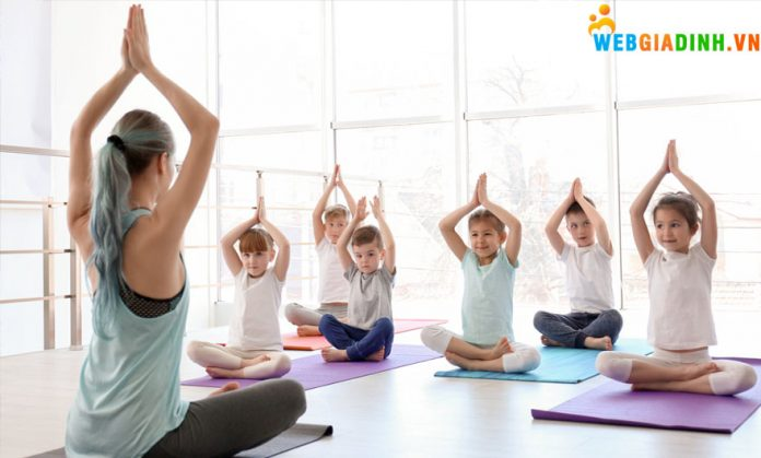 Địa chỉ yoga cho trẻ em ở Hà Nội