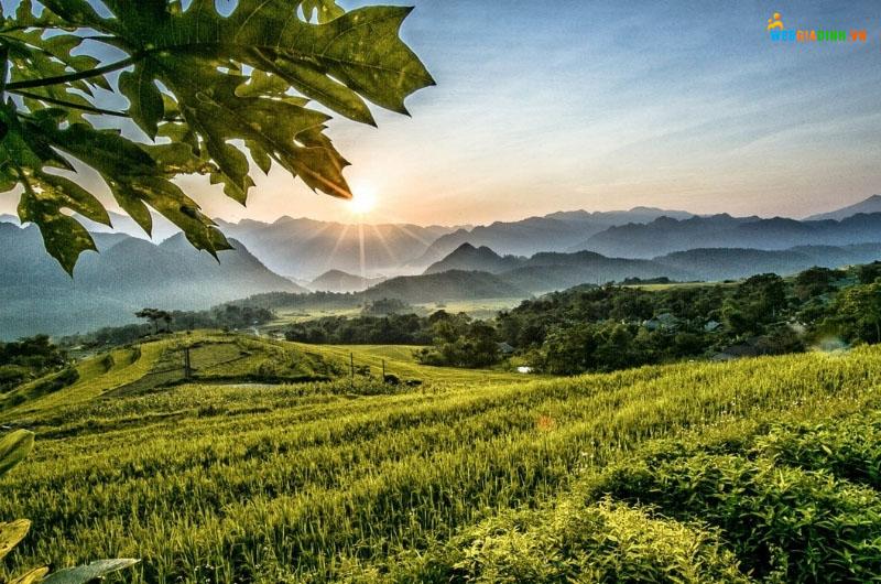 Địa điểm du lịch Tây Bắc - Pù Luông