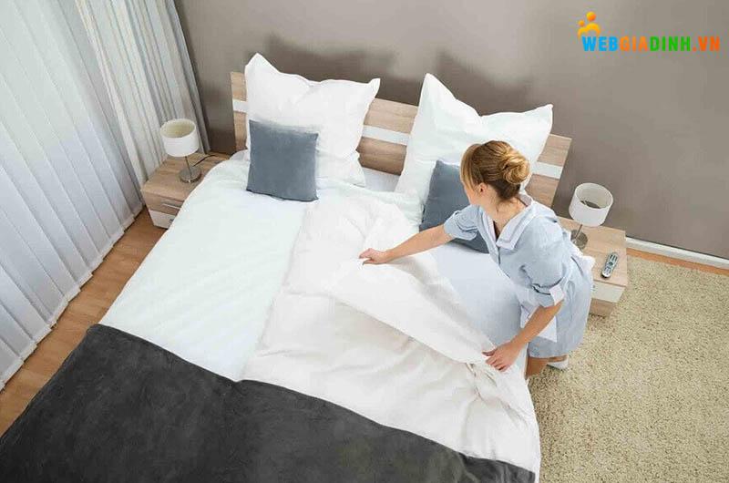 Dọn giường ngủ mỗi ngày