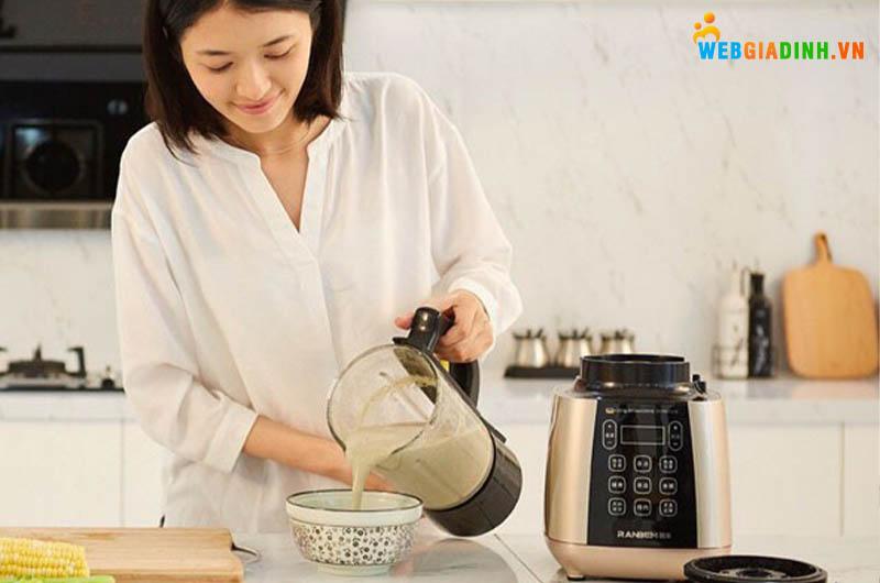 làm sữa hạt đơn giản tại nhà