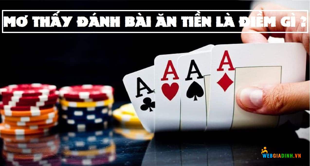 Nằm mơ tháy đánh bài