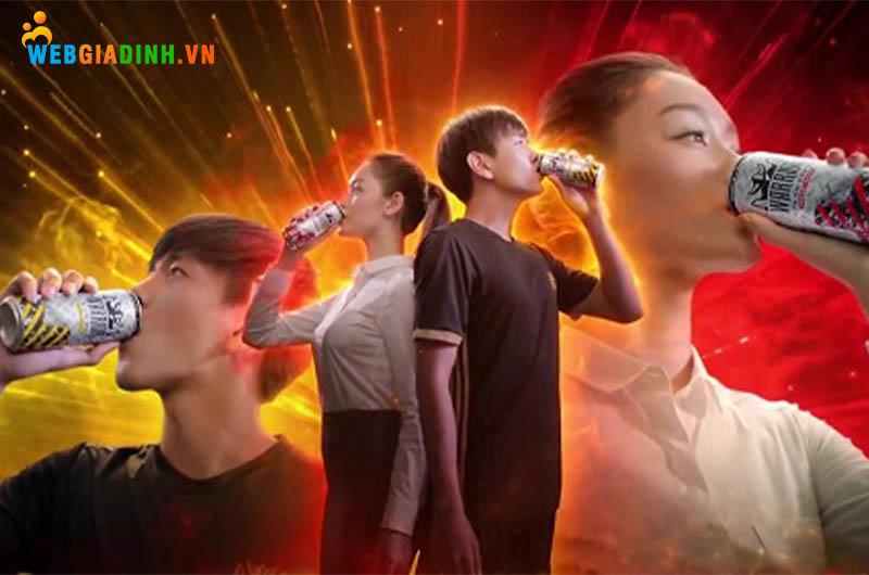 uống nước tăng lực warrior
