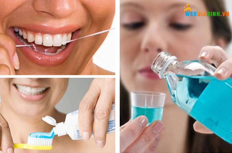 Nên có thói quen tốt về răng miệng