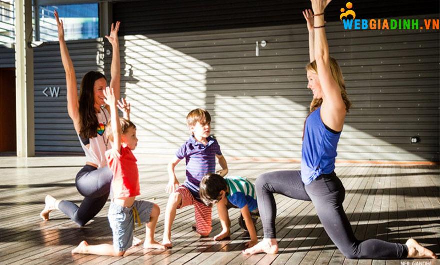 Yoga cho trẻ em tại Hà Nội