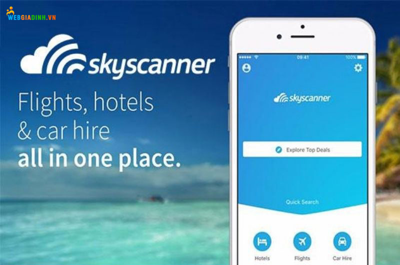 Ứng dụng skyscanner