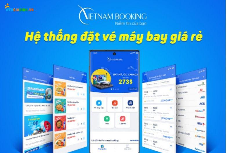 ứng dụng vietnambooking
